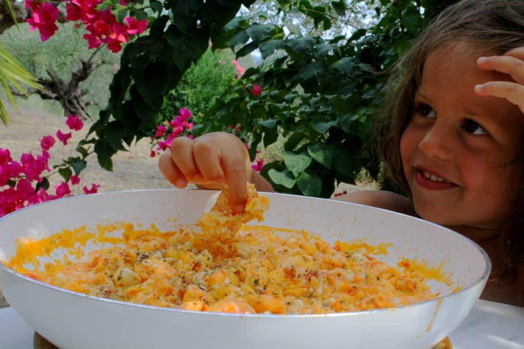 Mediterranean scrambled eggs