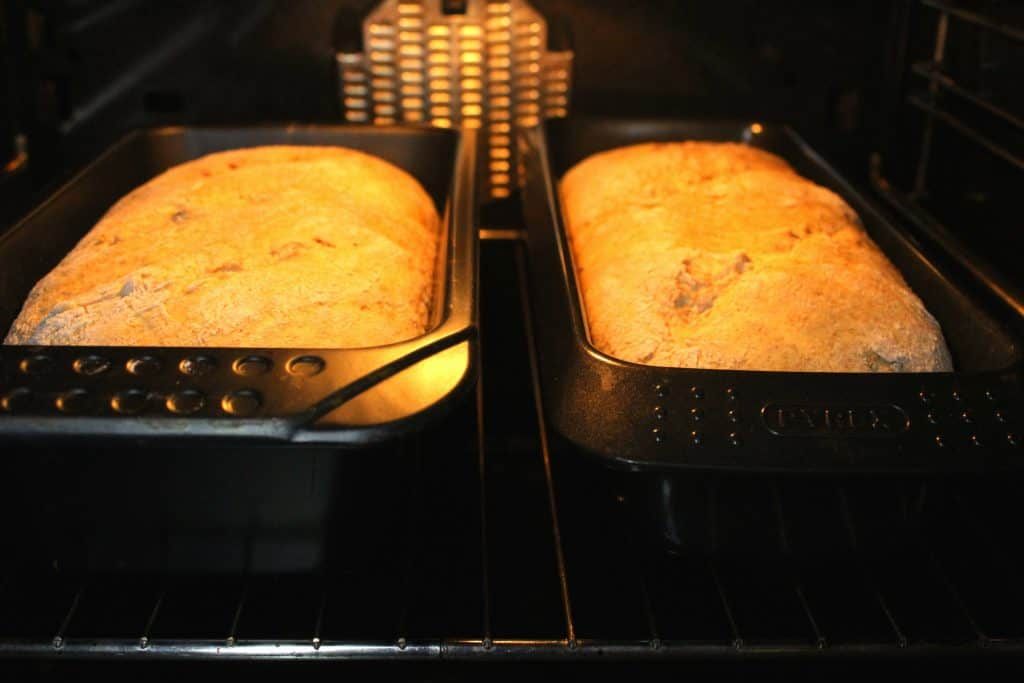 Homemade country bread