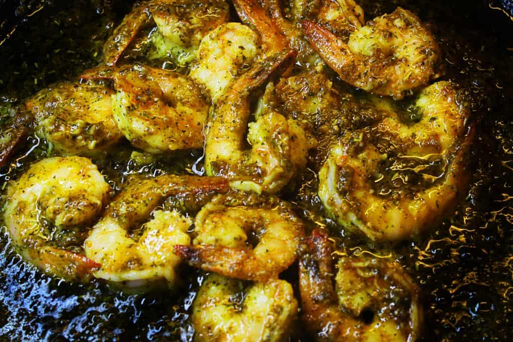 mediterranean shrimp garlic herb spice