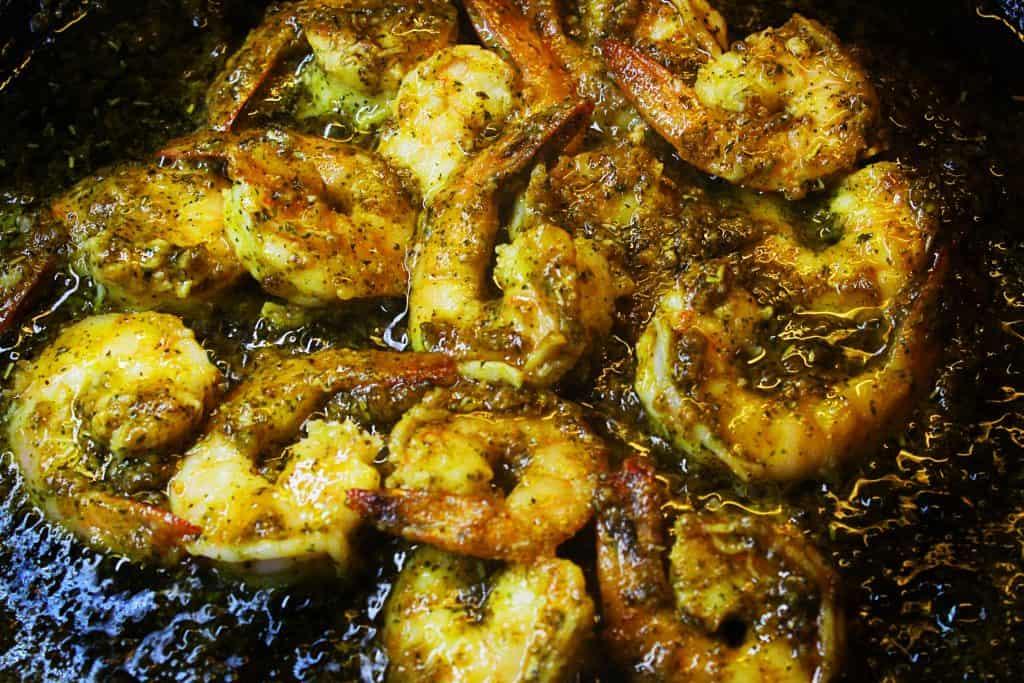 mediterranean shrimp garlic herb spice