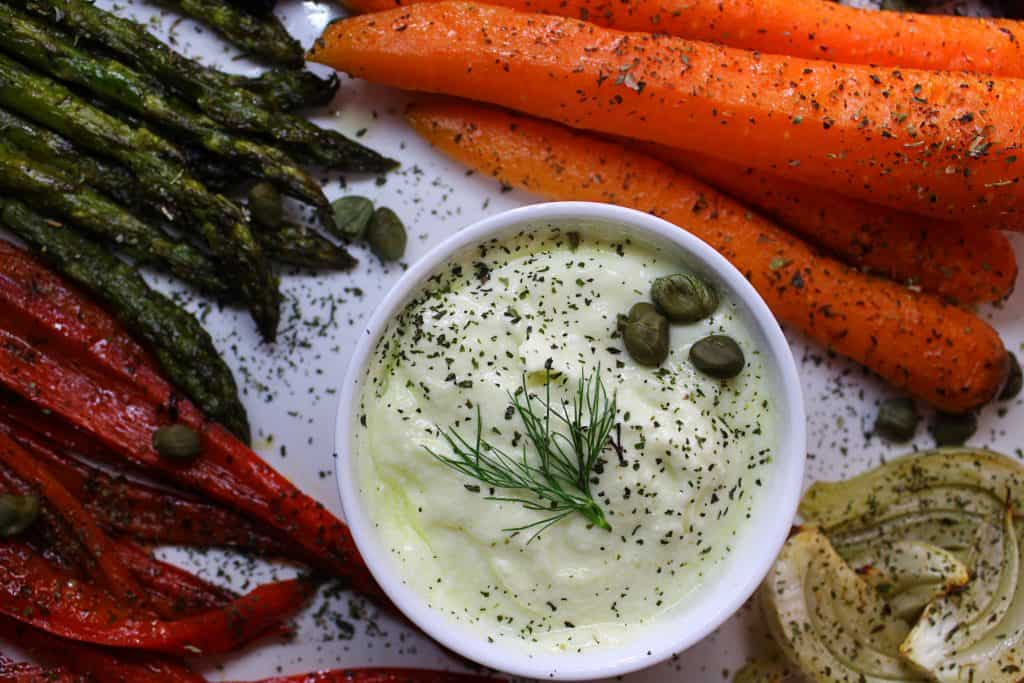 Mediterranean feta cheese dip with chili peppers
