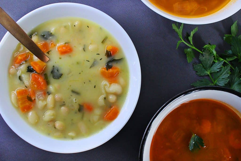 greek white bean soup