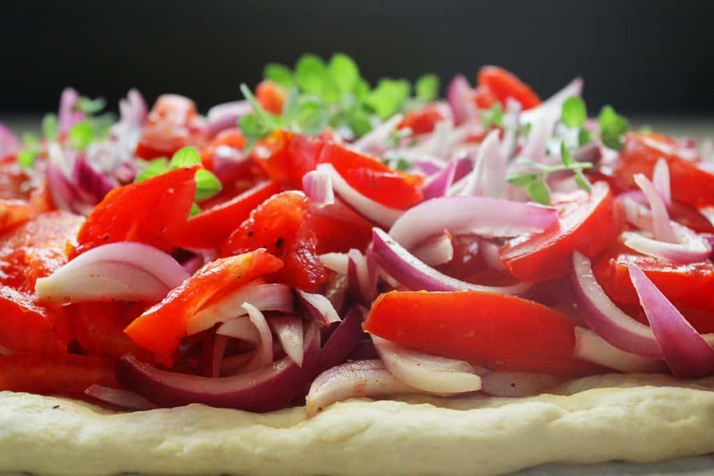 greek olive oil flatbread