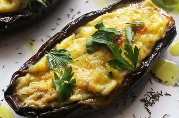 Greek Stuffed Eggplant – Papoutsakia
