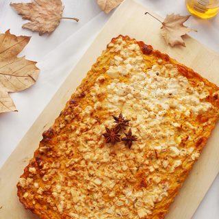 savory pumpkin pie www.30daysofgreekfood.com