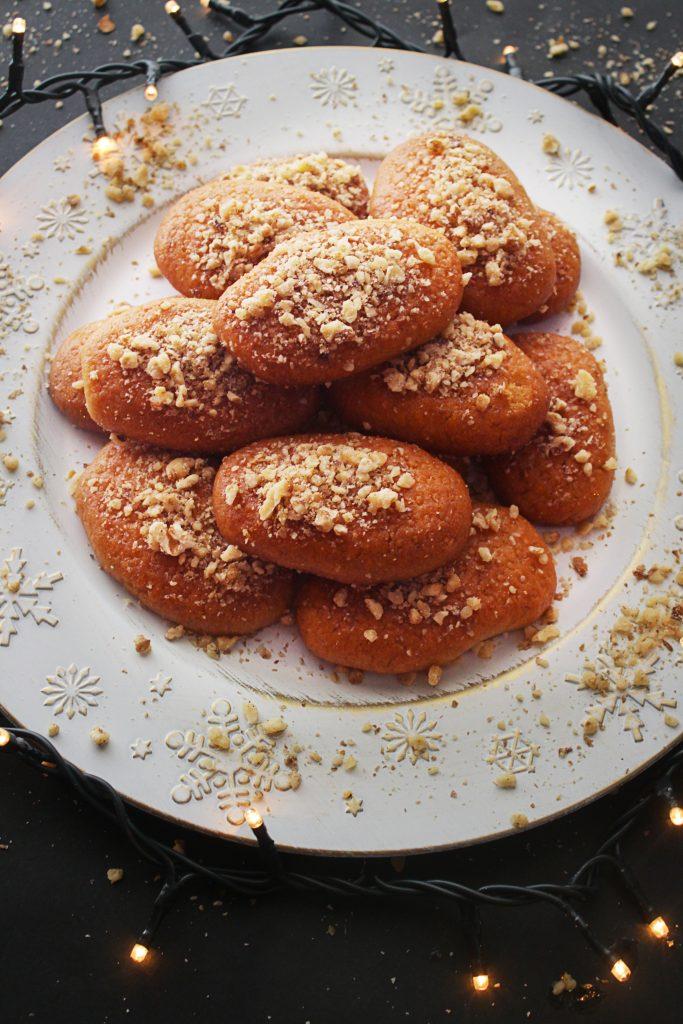 Greek Honey Cookie platter 30daysofgreekfood