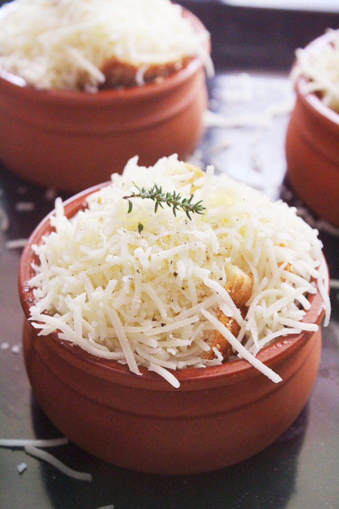 Mediterranean Onion Soup 30daysofgreekfood
