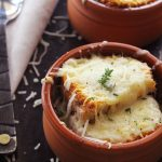 Mediterranean Onion Soup main 30daysofgreekfood
