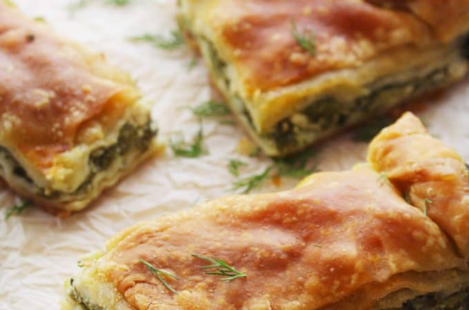 THE REAL TRADITIONAL GREEK SPINACH PIE