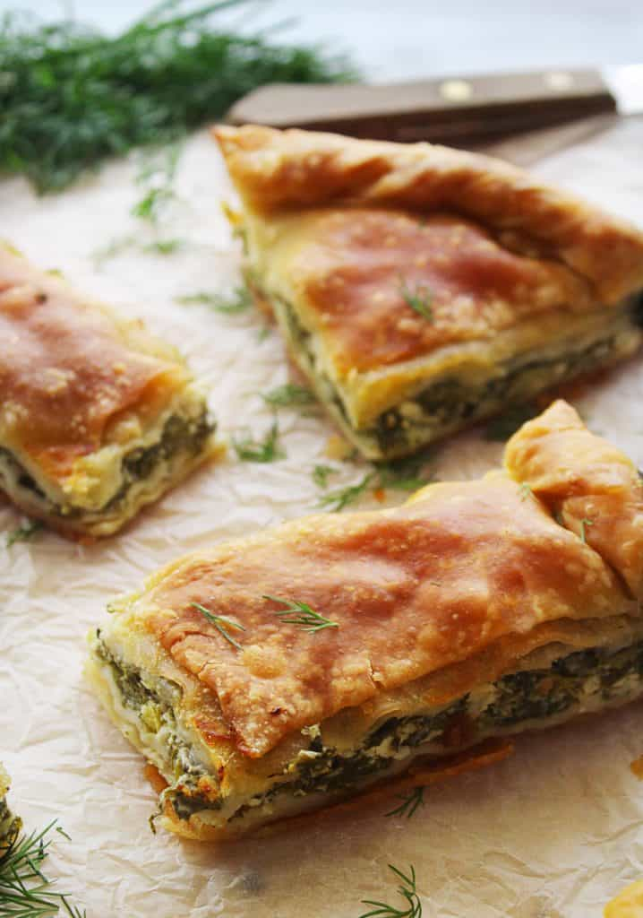 Traditional Greek Spinach Pie