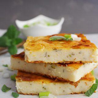 Mediterrannean Greek Flat Flour Pie traditional