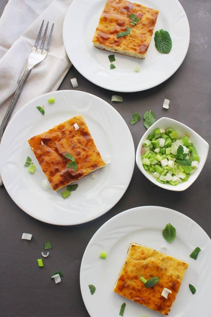 Mediterrannean Greek Flat Flour pie plates