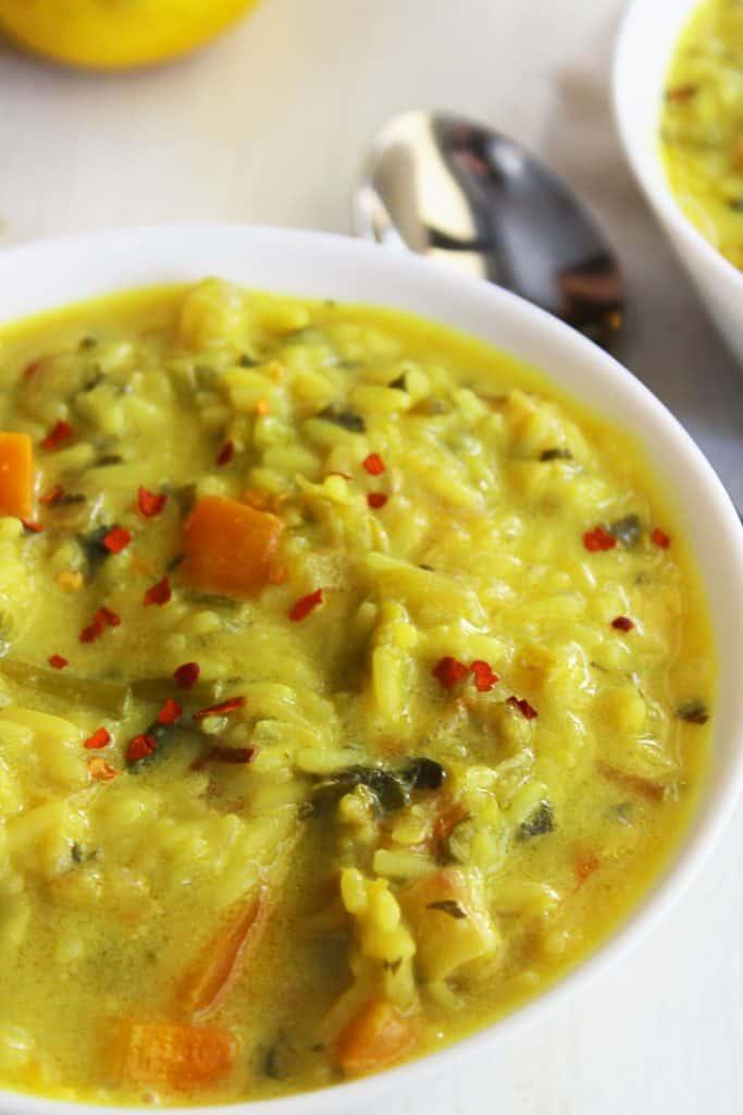 Mediterranean rice stew