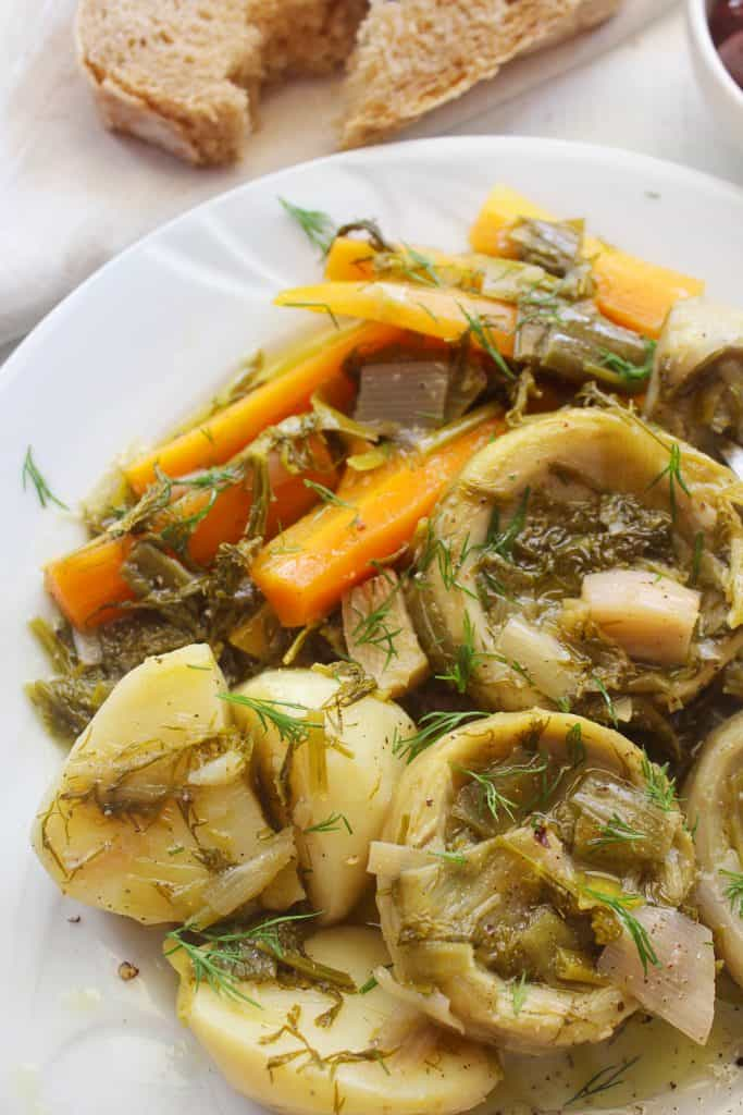 Greek Artichoke Stew