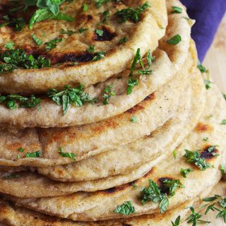 Greek Whole Wheat Pita Bread