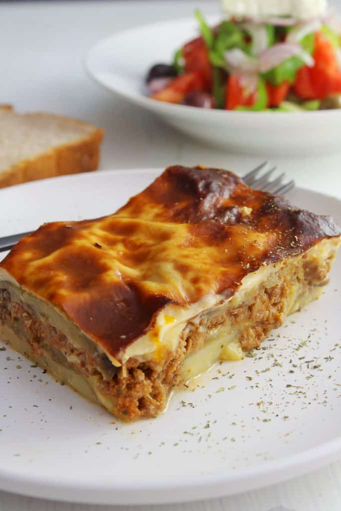Authentic Greek Moussaka –  Step by step tutorial