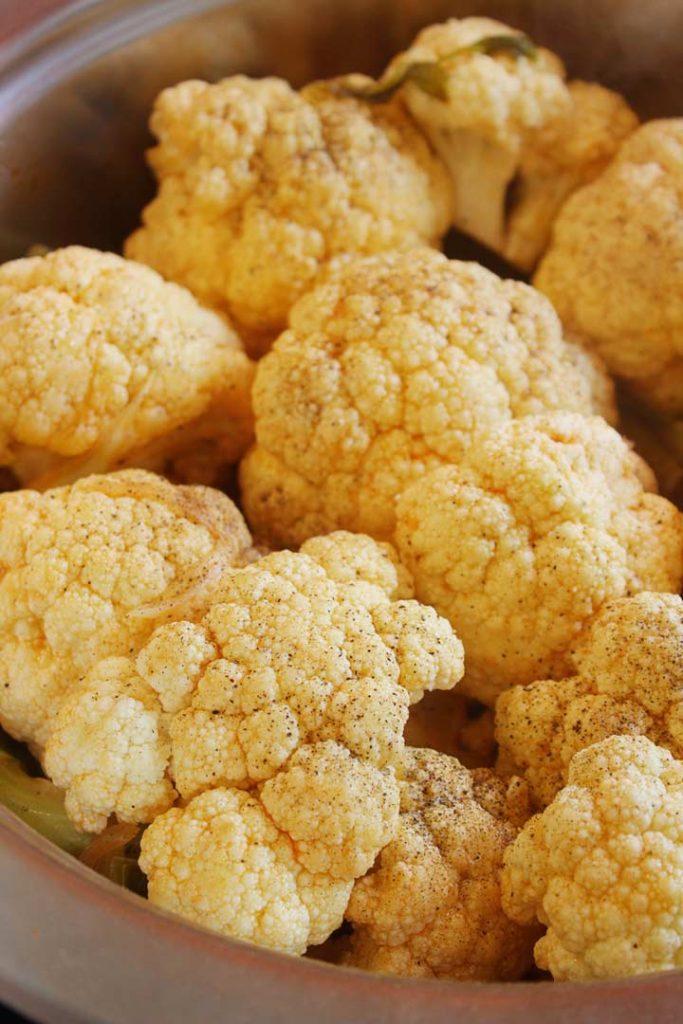 Braised Cauliflower