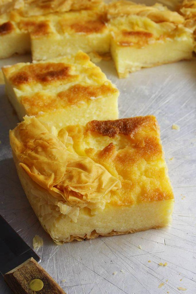Greek milk pie