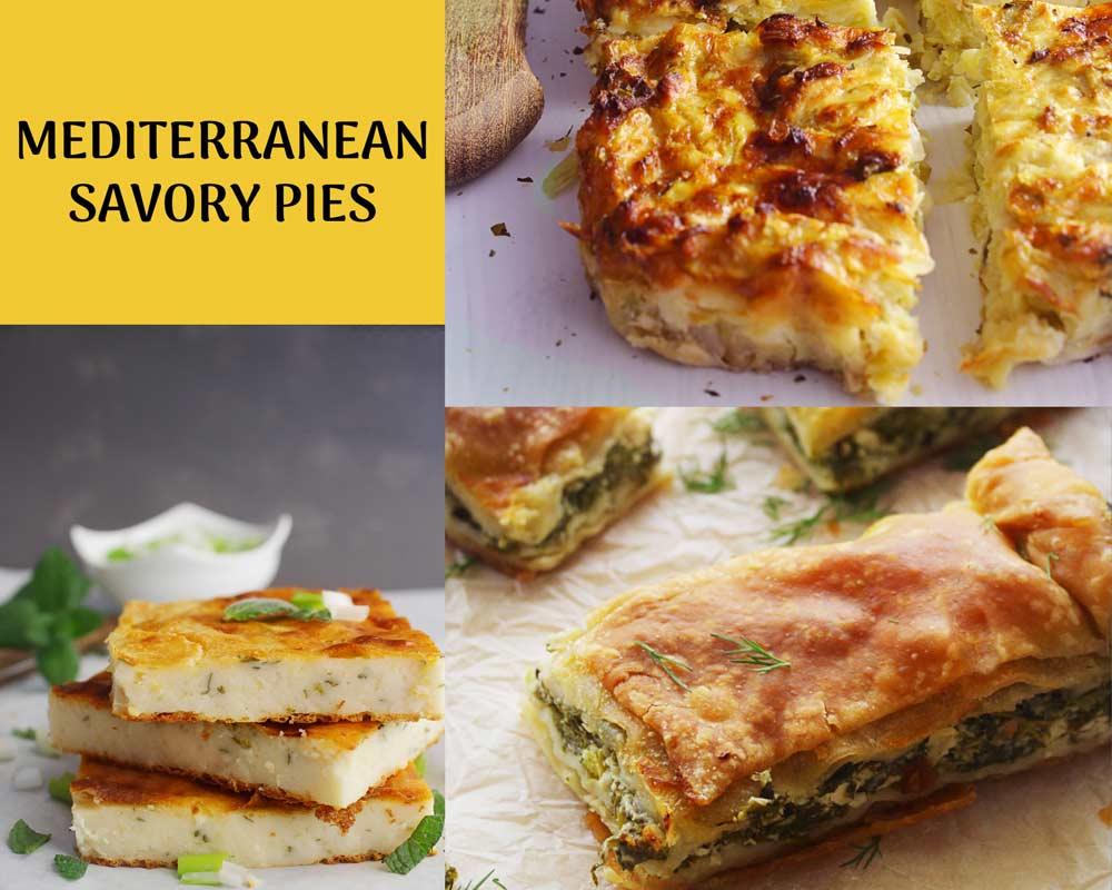 Mediterranean savory pies