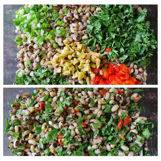 How to make a black-eyed pea salad