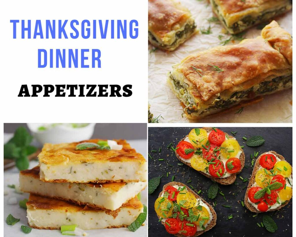 Mediterranean Thanksgiving Appetizers