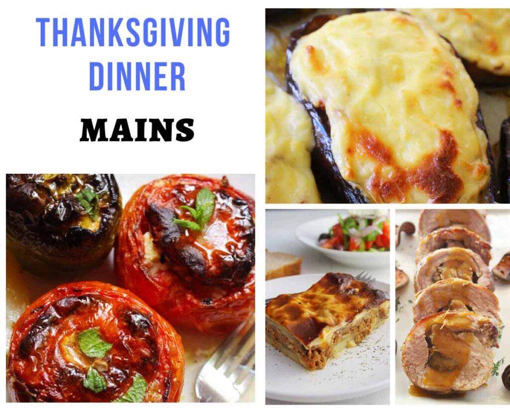 Thanksgiving recipes with main dishes